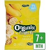 Organix Bananes Gâteaux De Riz Étape 2 50G -