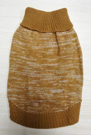 Ropa Suministros para Mascotas Varios Nuevos suéter para Cachorros Suéter para Mascotas Ropa para Perros Modelos de Invierno Ropa para Mascotas (Color: Café, Tamaño: M) Capa