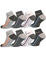 10 Paar Herren Sneaker Socken von Pesail Größe 39-46