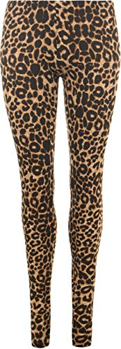LessThanTenQuid - Leggings - Mujer marrón Brown Leopard