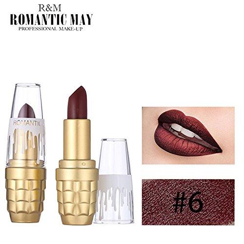 POachers Rouge à lèvres imperméable de longue durée imperméable à l'eau durable cadeau cosmétique de maquillage de beauté