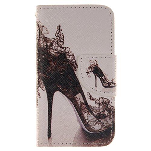 Nutbro [iPhone 4S] iPhone 4S Leather, iPhone 4S Leather Wallet Case, iPhone 4 Case,iPhone 4 Cases,Flip Wallet Leather Case Cover for iPhone 4S ZZ-iPhone-4S-36