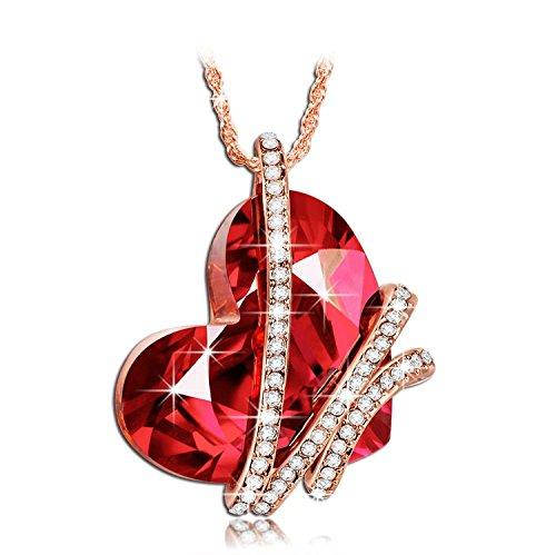 Collar de amor Venecia cristales Swarovski. P&M