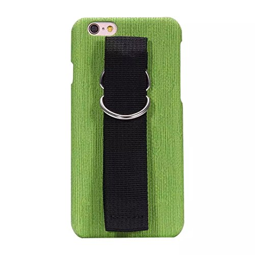 iPhone Case Cover iPhone 6 6S Mix and Match Cover Case Color avec Dragonne Housse de protection complète pour iPhone 6 6S ( Color : Green , Size : IPhone 6 6S ) Green