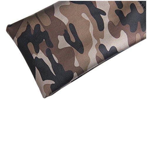 Sac Lunettes et Avec Chiffon de Nettoyage Eyewear Lunettes camouflage