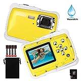 DECOMEN Digitalkamera Für Kinder Unterwasser-Digitalkamera für Kinder, Kinder Kamera mit 12MP HD Fotoauflösung,...