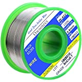 Owootecc Solder Wire, 0.6mm Lead Free Solder Wire with Rosin Core Tin Wire, 100g, Sn 99.3% Cu 0.7% for Electrical…