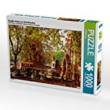 Buddha Statue im Wat Mahathat 1000 Teile Puzzle quer