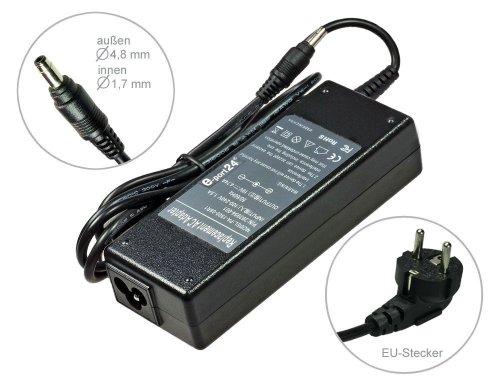 Notebook Netzteil AC Adapter Ladegerät für HP Pavilion DV2000 DV6000 dv6200 dv6500 dv6700 dv9000 dv9500 dv9700 dv9800 dv9900. Mit Euro Stromkabel. Von e-port24® - Notebook Netzteil Adapter