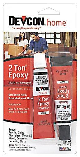devcon-35345-2-ton-clear-epoxy-05-oz-2-part-tube-size-05-ounce