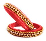 Silk Thread Bangles (2.6)