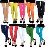 Shmayra By Myra-Syra International Soft & Strachable Free Size Cotton Lycra Leggings For Womens