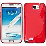 Samsung Galaxy Note II N7100Funda HCN Phone® S-Line TPU Gel Silicona–Carcasa flexible para Samsung Galaxy Note II N7100, compatible con Samsung Galaxy Note 2