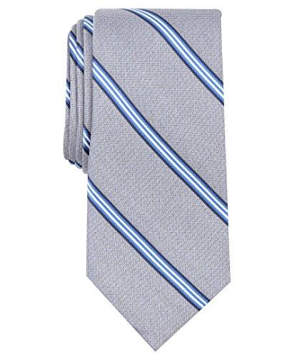 Nautica (NAV5C) Herren Bilge Stripe Tie Krawatte, navy, Einheitsgröße - Nautica Gestreifte Krawatte