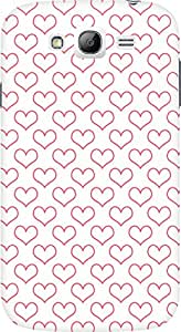 Amez designer printed 3d premium high quality back case cover for Samsung Galaxy Grand Neo Plus (Hearts)
