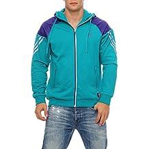91ec5247e63e Adidas Men Trg Jkt, TC FZ Hoody Jacke Kapuze Herren S - XL lila,