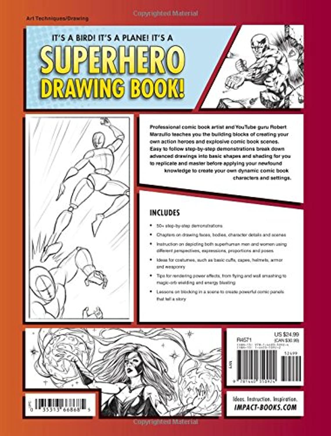 An Easy Step By Step Guide To Drawing Comic Book Characters