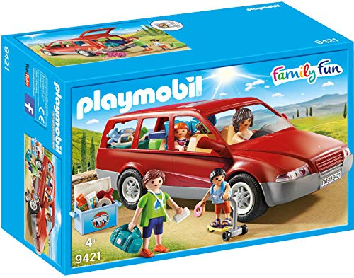 Playmobil- Coche Familiar Juguete
