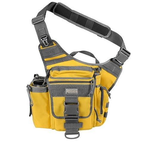 Maxpedition Jumbo Versipack Shoulder Bag - Safety Yellow, 3.5lt