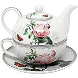 "'Imagen Hübsches Tea for one Vintage Rose """