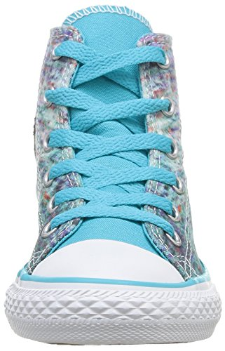 Converse Chuck Taylor Stream Wash, Baskets mode mixte enfant Turquoise (Turquoise/Multi)