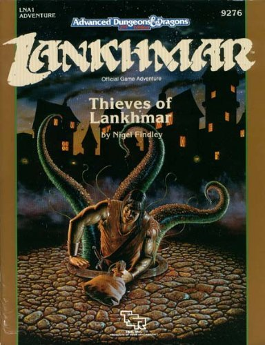 Lna1 Thieves of Lankhmar Module # (Advanced Dungeons and Dragons Module) by Nigel Findley (1-Mar-1990) Perfect Paperback par Nigel Findley