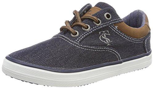 TOM TAILOR Jungen 4870104 Sneaker, Blau (Navy), 39 EU