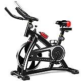 T1000U Bicicletta da spinning Spin bike Cyclette (Rosso)