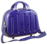 1 Beauty Case Nepal Farbe Blau Carbon Polycarbonat Hartschale Reisekoffer Trolley Case Fa. Bowatex