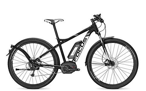 E-Bike Focus ELECTRIC-SPORT-ATB-2 JARIFA BOSCH PLUS 9G 11AH 36V Herren in black , Rahmenhöhen:51;Farben:blackm 36v/11ah