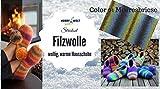Hobbywelt Set Filzwolle Strickset Hausschuhe Meeresbriese