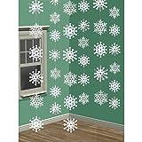 2.1m Snowflake String Decoration (Pk6) (2)