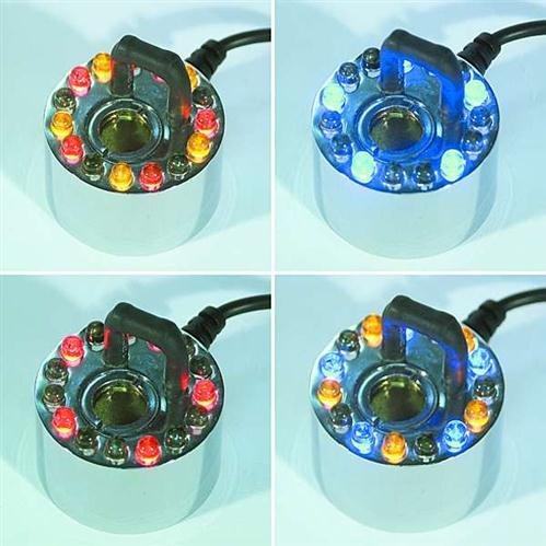 Ultraschall-Zerstäuber / Wassernebler 12 LEDs mit Farbw