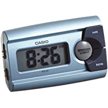 Casio CLOCKS - Reloj digital despertador de cuarzo (alarma, luz)