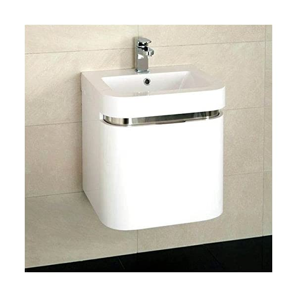 500 Vanity Unit with Basin for Bathroom Ensuite Cloakroom – Wall