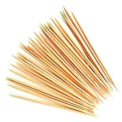 NEW Wooden Cocktail Sticks Tooth Picks Cherry Olive Cheese Buffet Party 25–500pc, 400