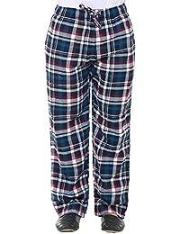 Twist Mens Blue & White Checked Cotton Comfort Night Western Global Desi Wear Pyjama Pant Free Shipping