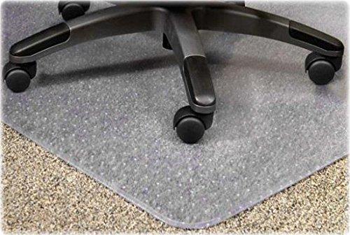 Eliza Tinsley - Alfombra protectora para silla de oficina (suelos enmoquetados), transparente