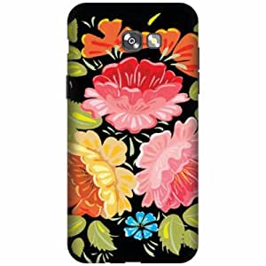 PrintlandDesignerHard Plastic Back Cover for Samsung Galaxy A7 2017 -Multicolor