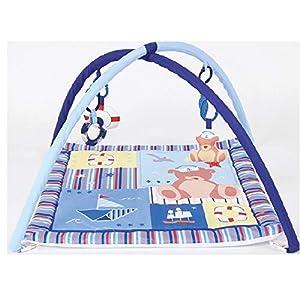 Duffi Baby- Gimnasio Infantil Bebé, 100% Poliéster, 70 x 70 cm, (Master Baby Home, S.L. 0688-32)