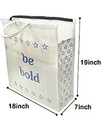 Large Capacity Hand Bag / Shopping Bag / Grocery Bag / Vegetable Bag For Daily /picnic Bag / Weekend Multipurpose...