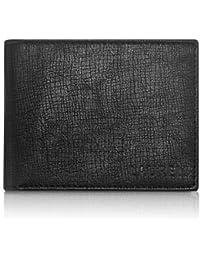 Laurels Cross Black Color Men's Wallet (LW-CRS-02)