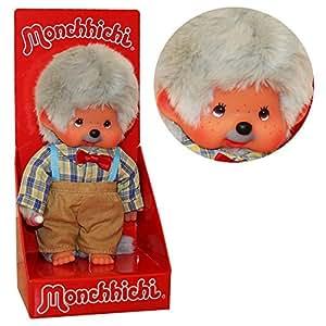 Kiki - Monchhichi - Boy comme Grand-père - Aïeul 20cm Poupée