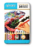 #10: Apsara 101250003 Color Pencils - 14 Shades (Multicolor)