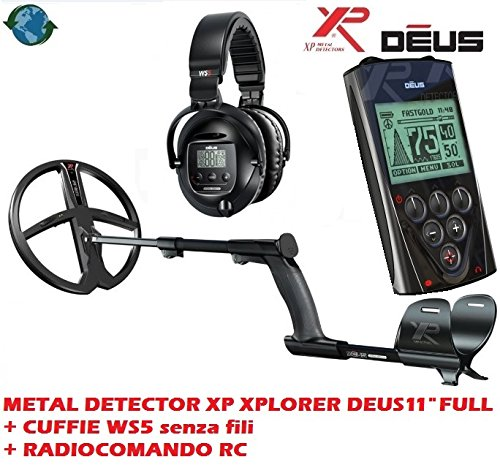 Metalldetektor XP Xplorer Deus 11