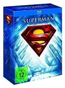 Die Superman Spielfilm Collection (8 Discs) (Exklusiv bei Amazon.de) [Blu-ray]