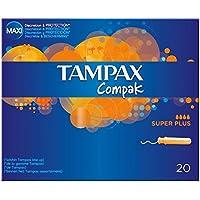 Tampax Compak Applikator Tampons Super Plus (20) - Packung mit 2 preisvergleich bei billige-tabletten.eu