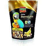 Riga (petfood Menu Premium Perroquets Fruits et Noix Doypack de 800 g - Lot de 3