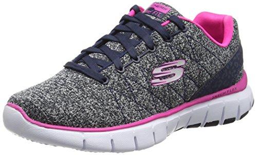 Skechers Skech-FlexWest End - Zapatillas Mujer, Multicolor (NVHP), talla 37