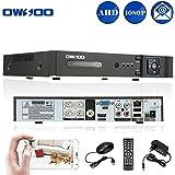 OWSOO 4CH h. 264 Voll Netzwerk DVR Digitaler Videorekorder ( 1080N(960*1080) P2P) CCTV Telefon Control Motion Detection E-Mail Sicherheitsalarm für Überwachungskamera